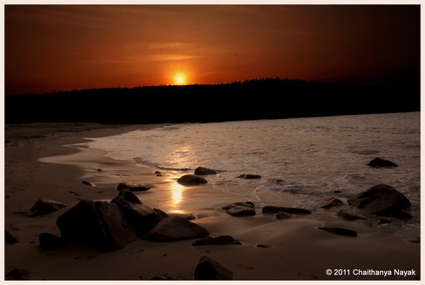 Sunrise at Sand Beach, Acadia National Park, ME