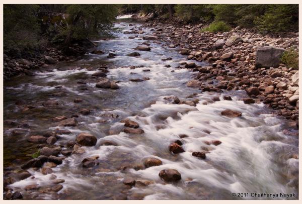 Merced River near Happy Isles, Yosemite NP, CA