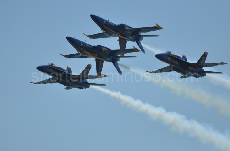 blue angels airshows