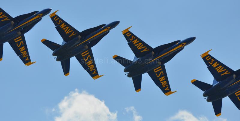 blue angels at air show