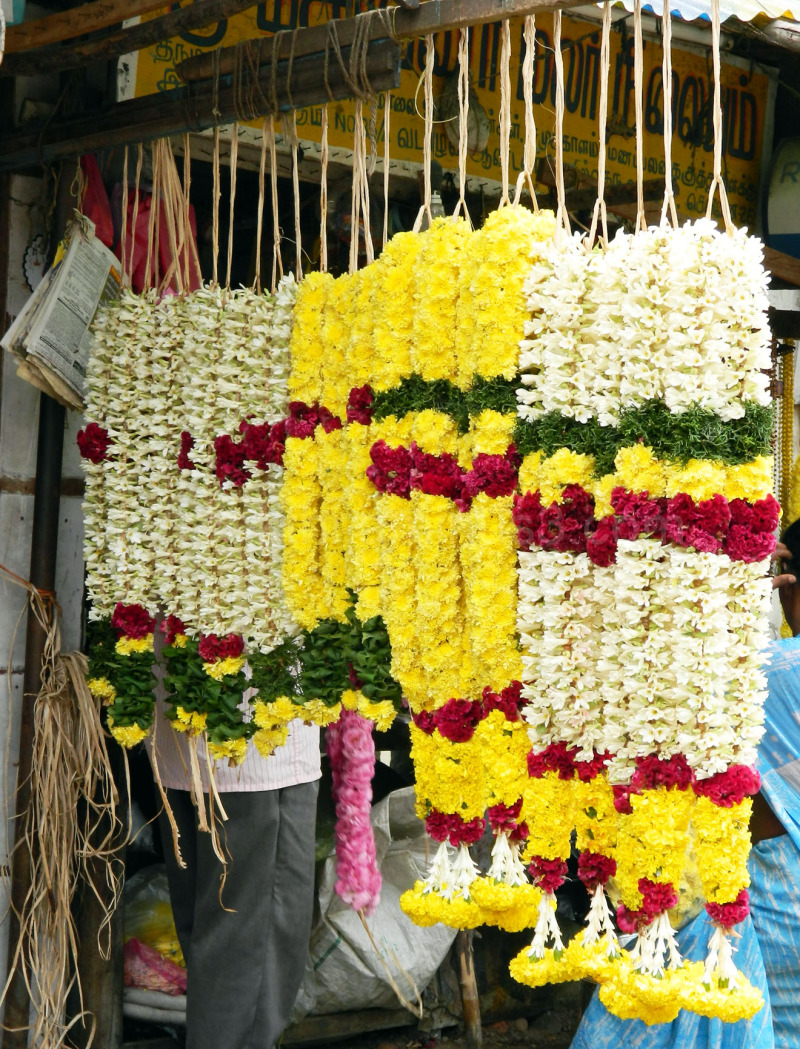Flower_vadapalani temple