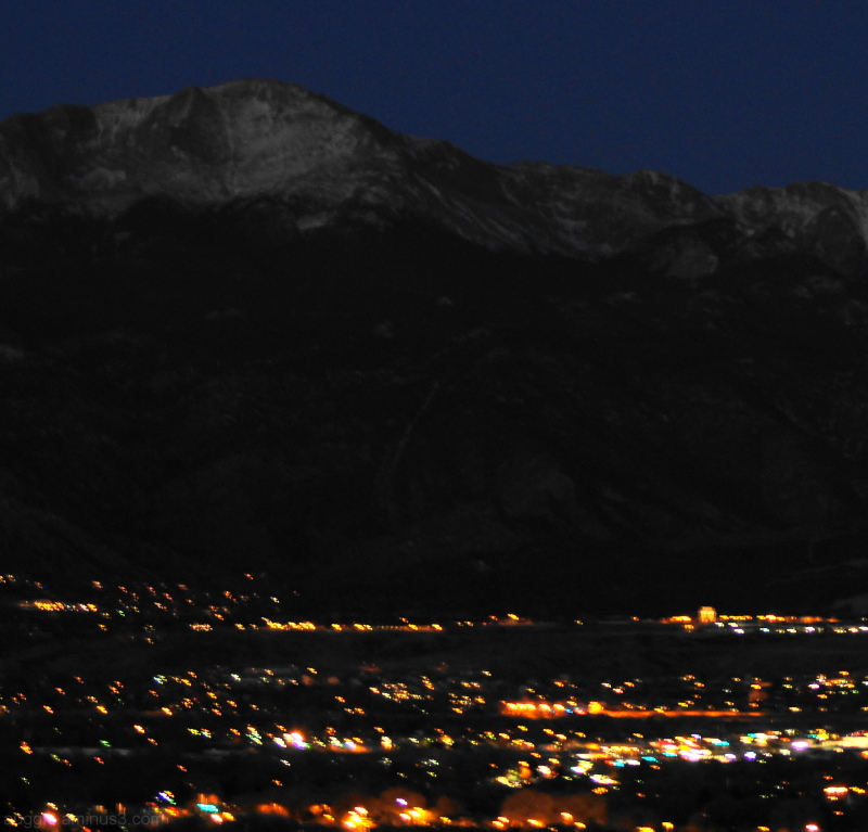 Colorado Springs @ Night