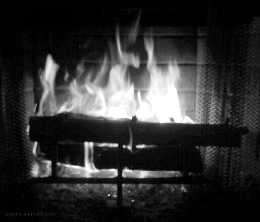 Fire in B&W
