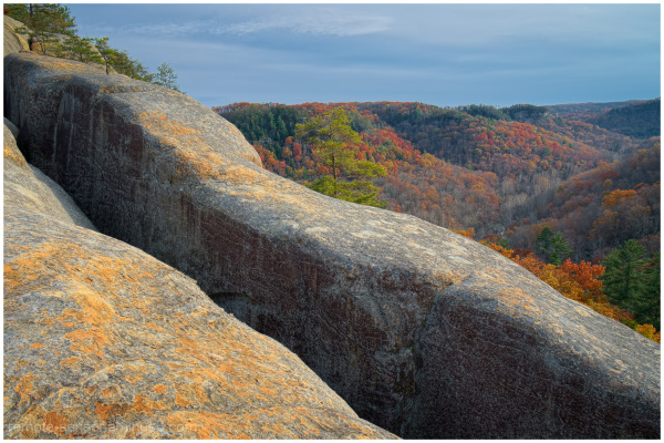 cloudsplitter in the red river gorge kentucky