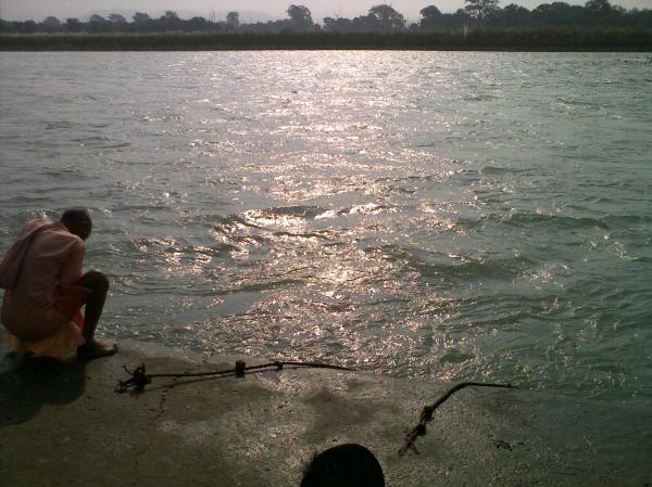 The dancing river Ganga