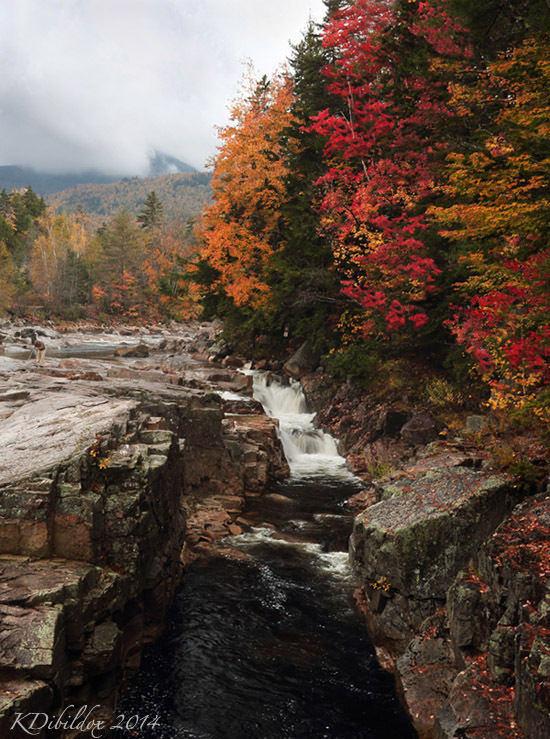 Fall colors over Rocky Gorge