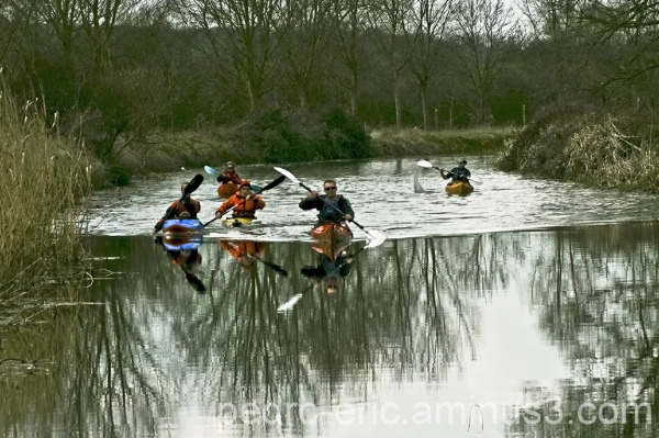 Canals Canoeing
