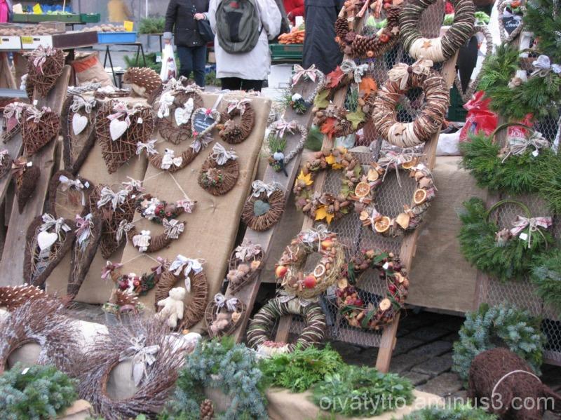 Wreaths desing  Tuija Mäkelä