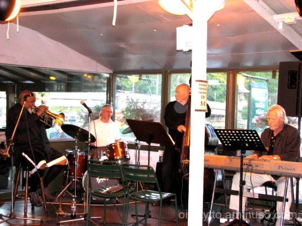 Ted Curson and Poriginal jazz band!