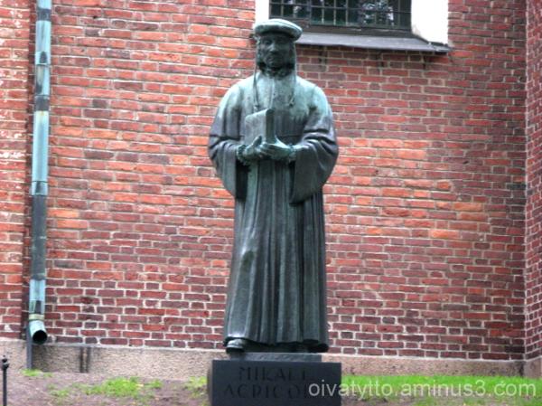 Finnish language father Mikael Agricola!