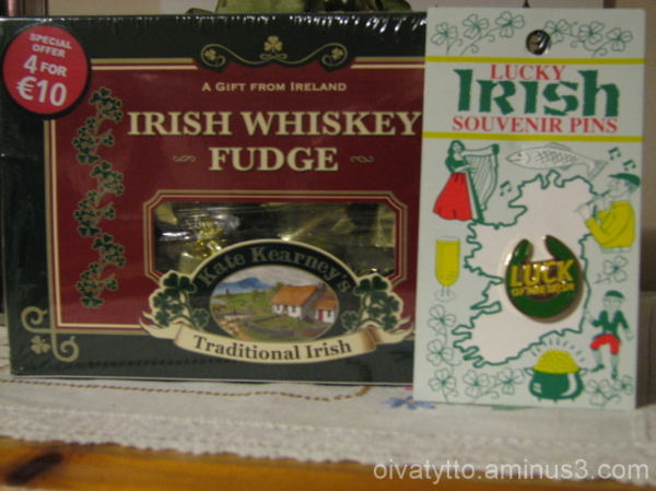 Souvenirs from Ireland!