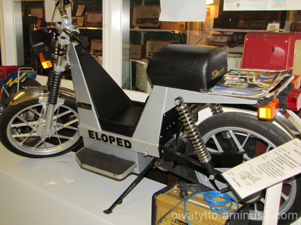 Electric Moped.