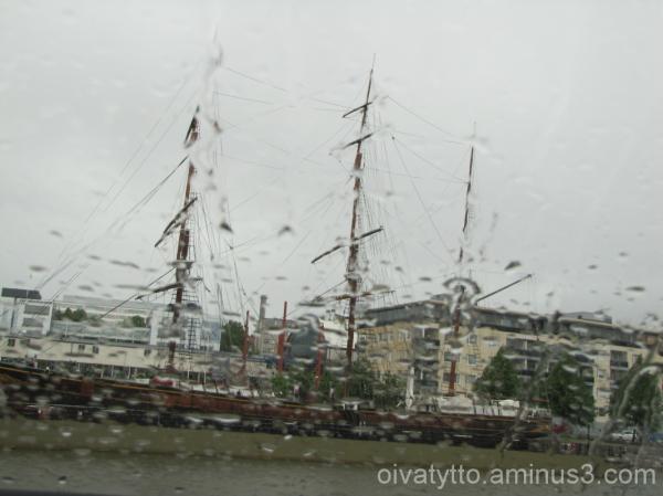 On Sunday, it rains always!