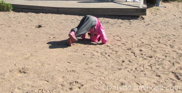 somersault!