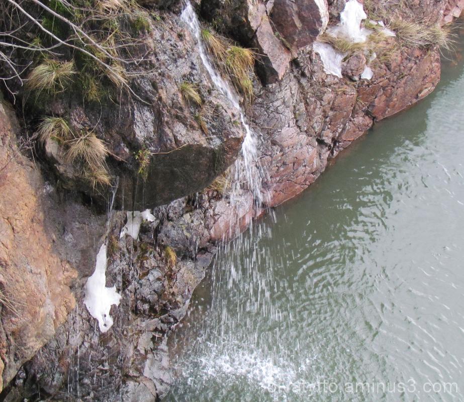 Mini waterfall!