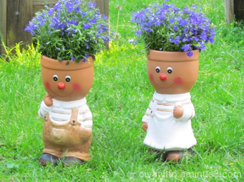 The garden new friends!