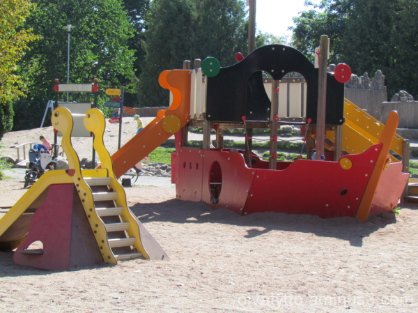 Children's playground equipment!