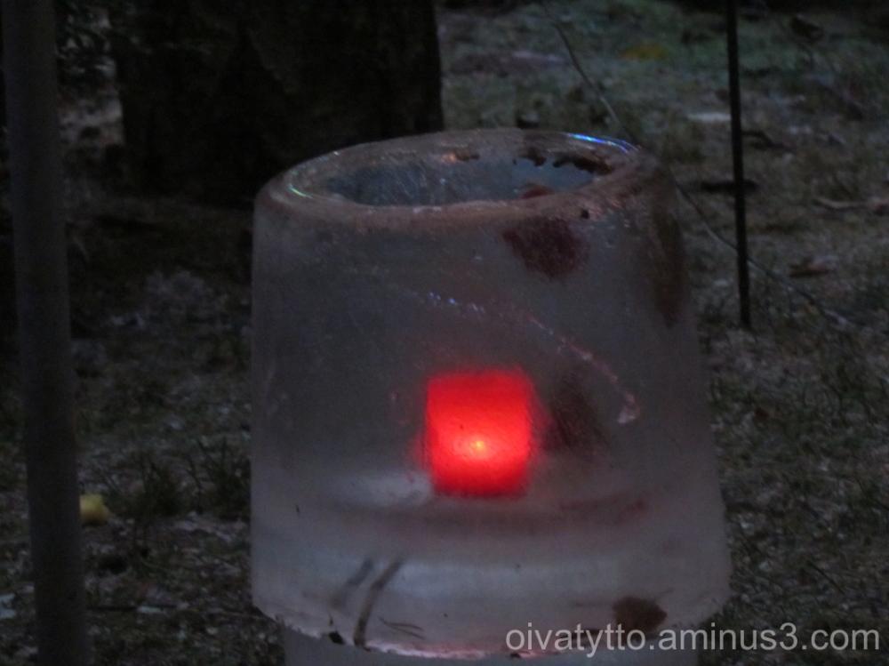 Ice lantern!