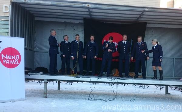 Turku police Acabella choir!