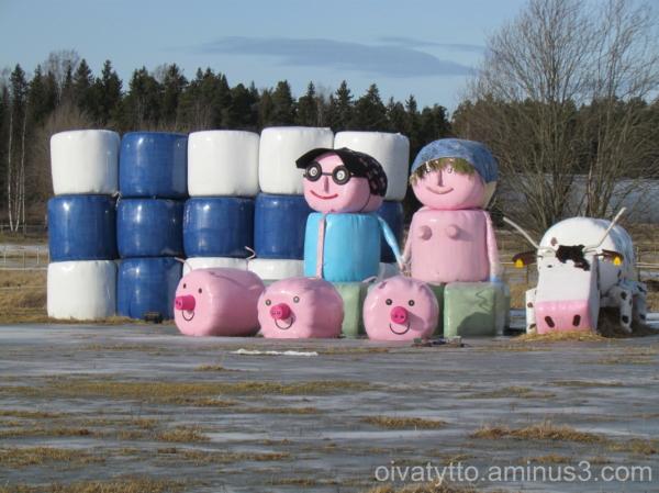 Farmer family.