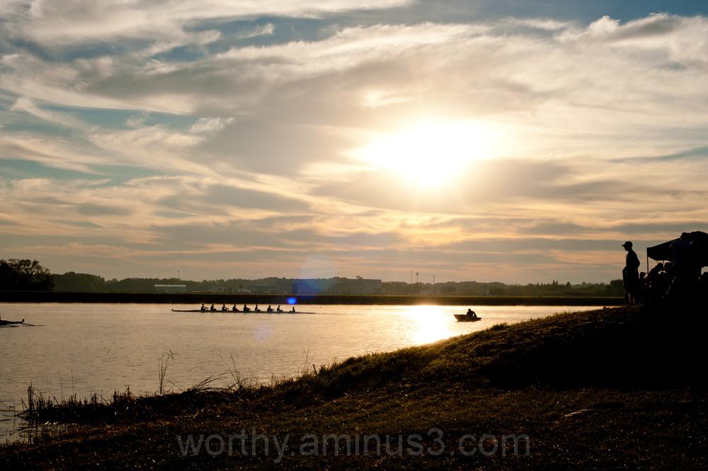 sunrise rowing