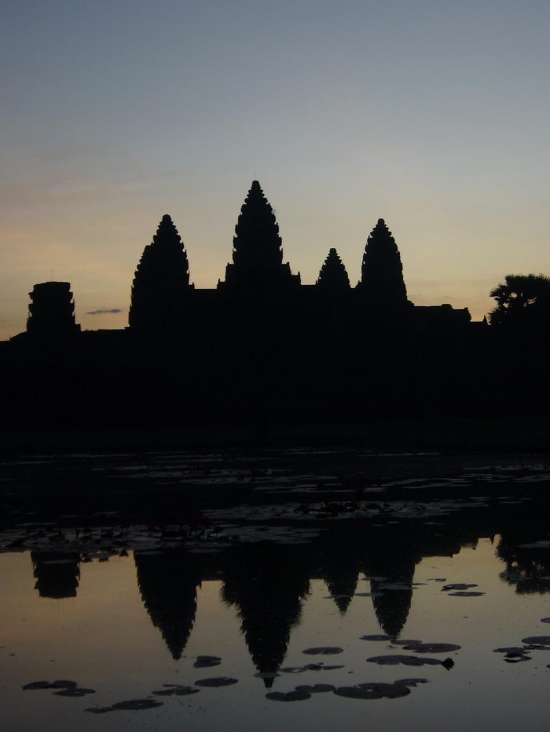 Angkor au petit matin