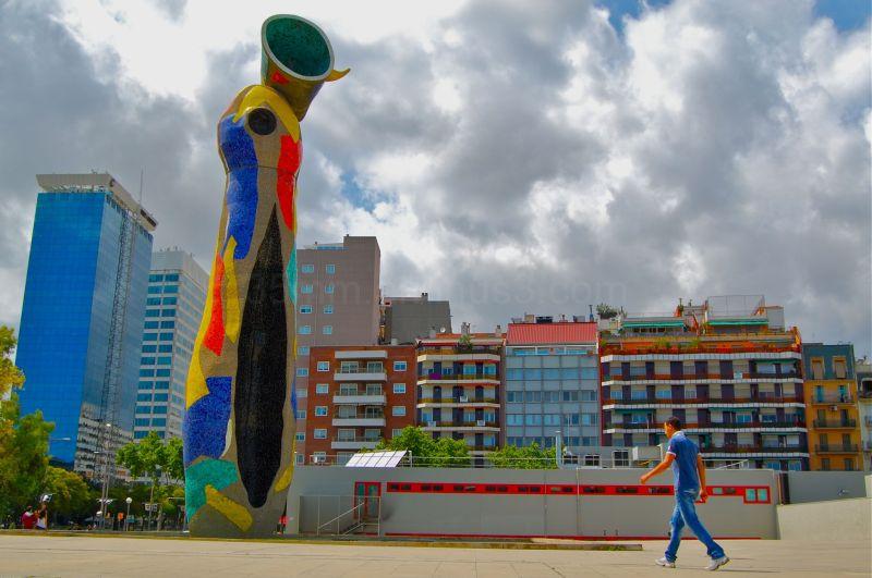 sculpture by joan miro