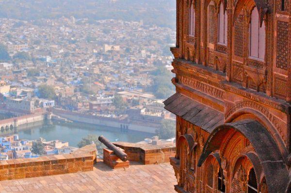 Jodhpur city from Mehrangarh Fort