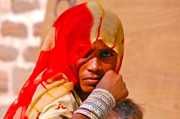 Woman from Mewar