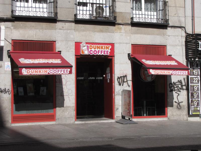 Dunkin Donuts in Spain.
