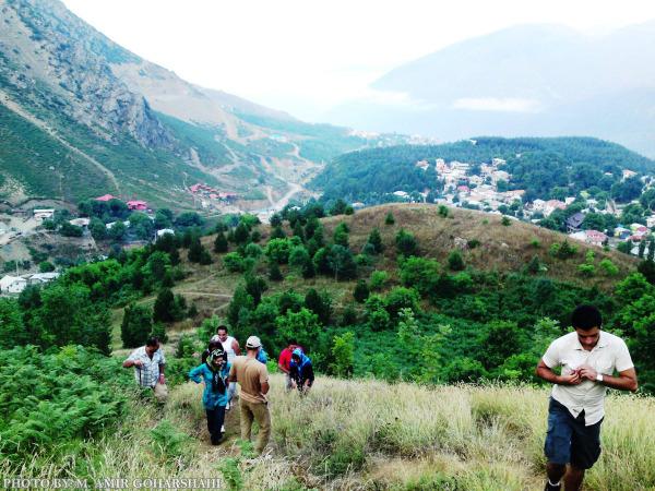 Climbing Climb Hill Spring Amir Goharshahi