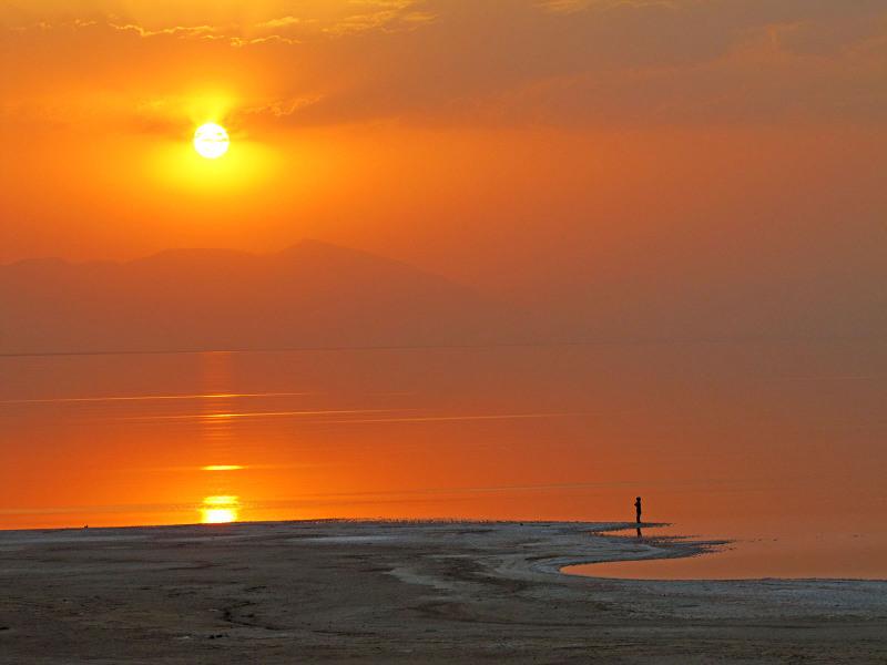 Dry Lake Urmia