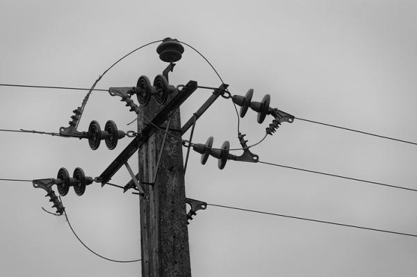 power line anzali gilan north