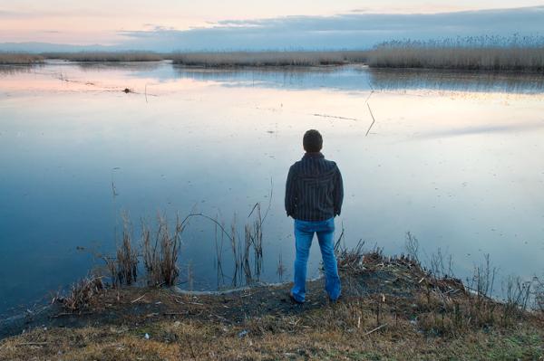 anzali mordab talab lagoon tranquility