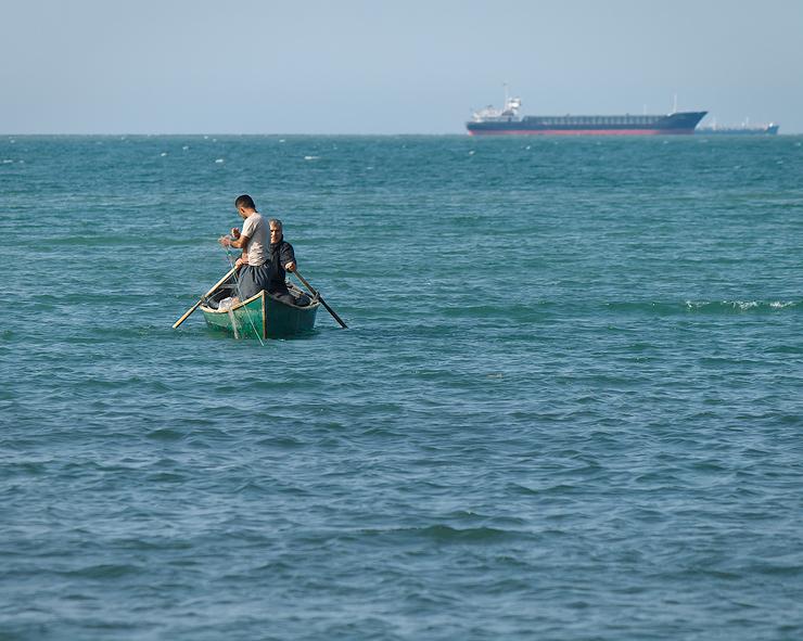 anzali gilan caspian sea sahel darya fishing