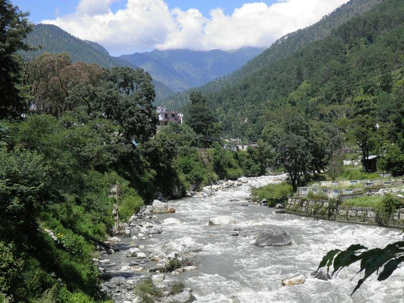THE RIVER BHAGIRATHI