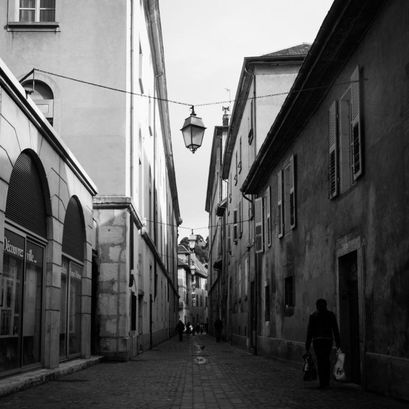 Dans les rues de Chambéry