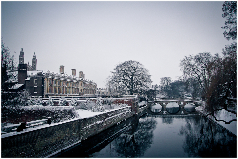 Winters Day on the River Cam