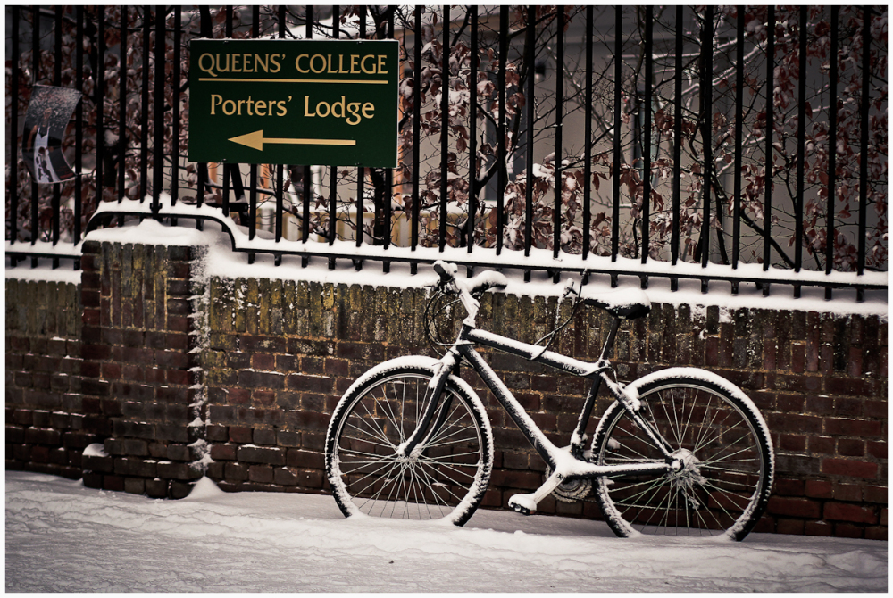 Bike and Queens' College