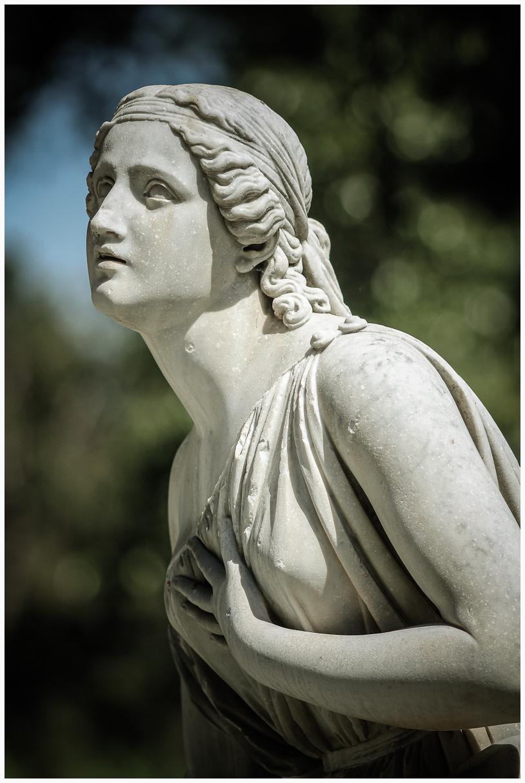 In the Gardens of Villa Borghese