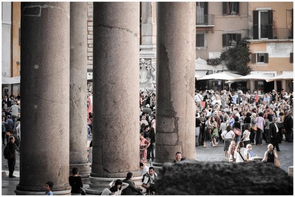 Pantheon Crowds