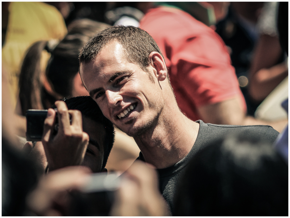 Andy Murray, Italian Open Draw.