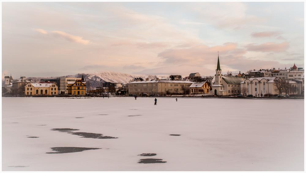 Winters Day in Reykjavik
