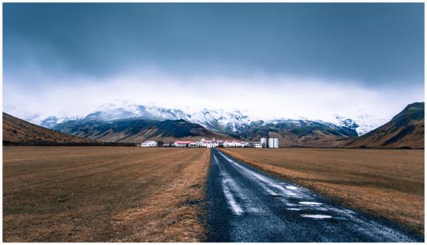 The Foot of Eyafjallajökull Volcano