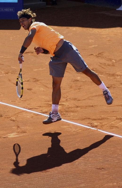 sombras shadows nadal tenis
