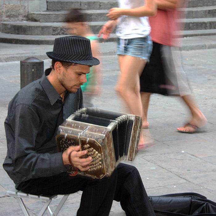 music street barcelona