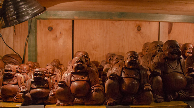 shopping budism