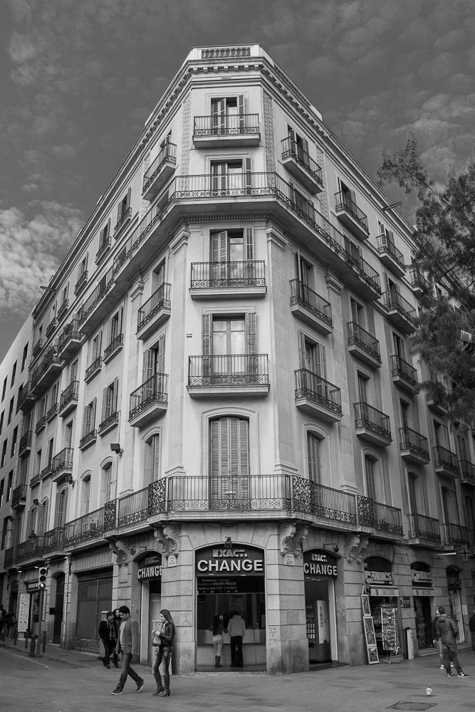 barcelona BW architecture