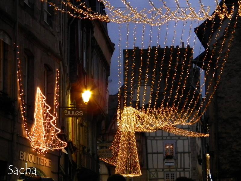 Rues de Kemper illuminées pour les fêtes # 1