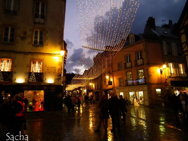 Rues de Kemper illuminées pour les fêtes # 3